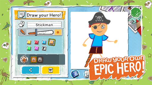 Draw a Stickman: EPIC 3 apktram screenshots 8