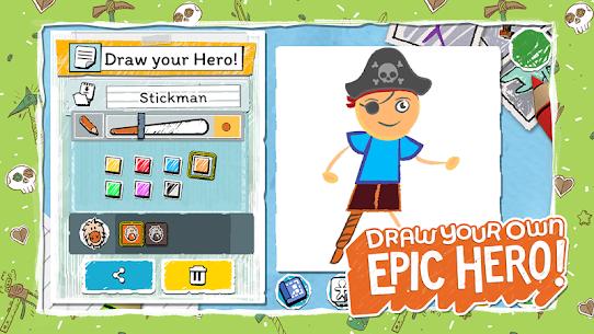 Draw a Stickman Mod Apk: EPIC 3 (Unlimited Health) 8
