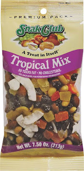Continental Concession Tropical Mix Snack - Premium Pack, 7.5oz