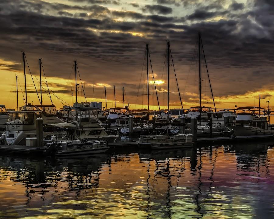 by Jerry Boyden - Transportation Boats