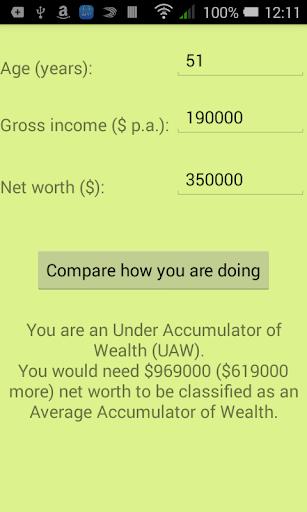 Wealth Accumulator
