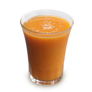"""Get Your Orange"" Flax Smoothie."