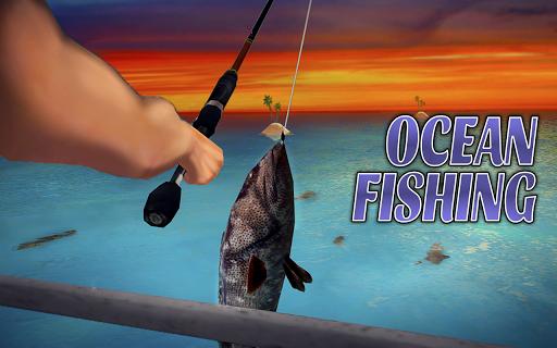 Code Triche simulateur de pêche océanique  APK MOD (Astuce) screenshots 1