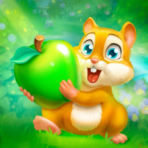Baixar Jardim dos Animais: Jogo de Três Combinações para Android