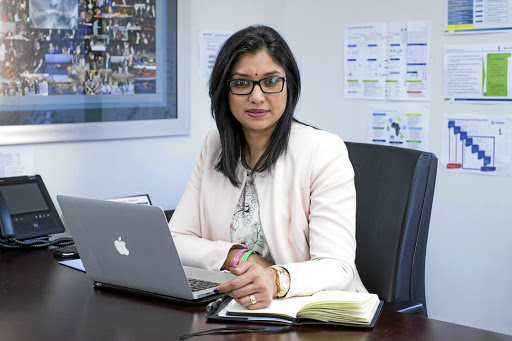 Upbeat: Vedanta Zinc International CEO Deshnee Naidoo says output of zinc concentrate could rise to as much as 600,000 tonnes a year. Picture: SUPPLIED
