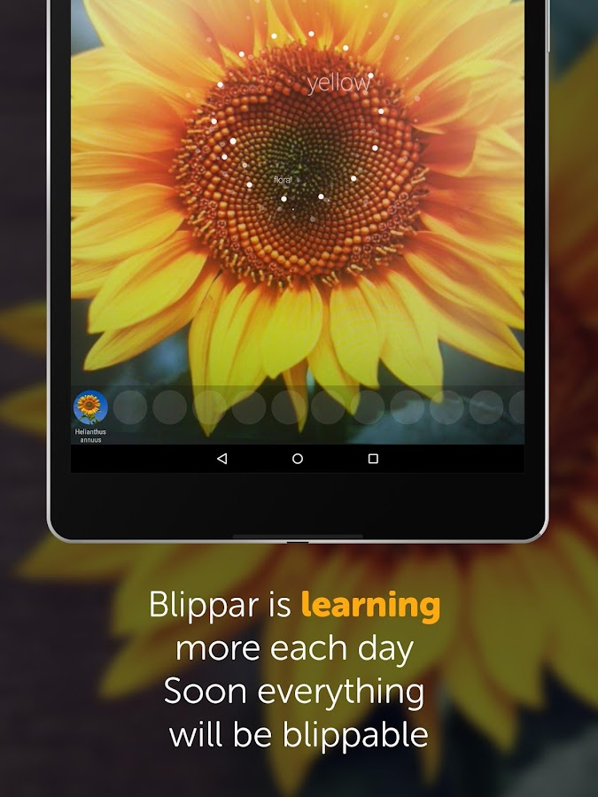 Blippar- screenshot