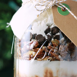 Jar Brownies. A Holiday Gift!