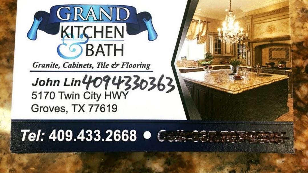 Grand Kitchen & Bath cabinet and countertop - Granite ...