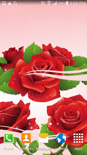 Rose Live Wallpaper  screenshots 2