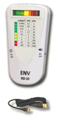 ENV RD-10 EMF detector/meter