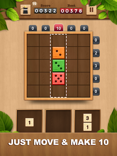 TENX - Wooden Number Puzzle Game 1.1.3 screenshots 8