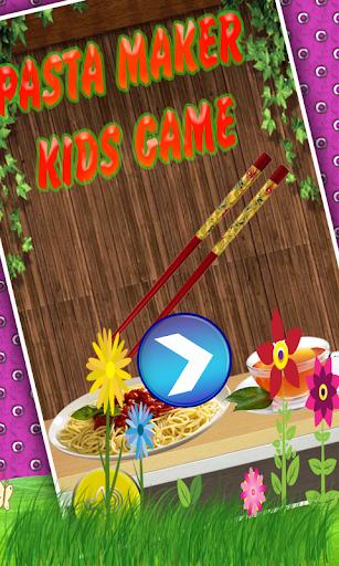 Pasta Maker - Kids Game