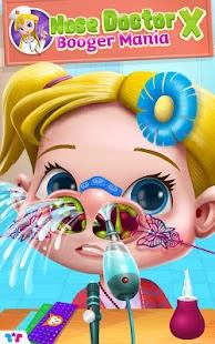 Nose Doctor X: Booger Mania apk screenshot 1