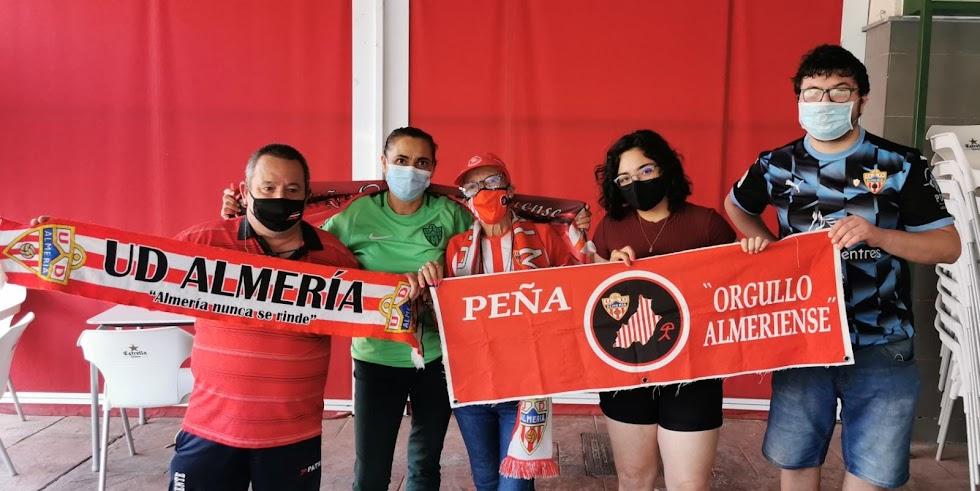 Pirri, Paqui Muñoz, Tita Enriqueta, Minerva Salinas y Daniel Castilla