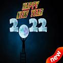 Happy New Year 2022 GIF 4K icon