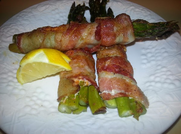 Loaded Roasted Asparagus Recipe