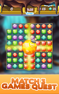 Gem Quest - Jewelry Challenging Match Puzzle - náhled