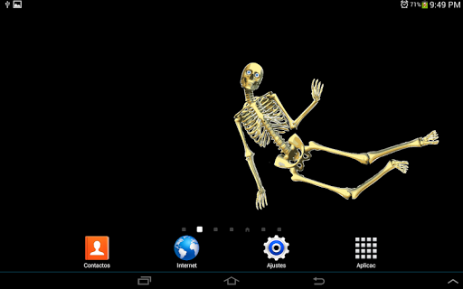 Skeleton Live wallpaper 1 screenshots 5