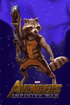 Live Wallpaper Avengers Infinity War Poster
