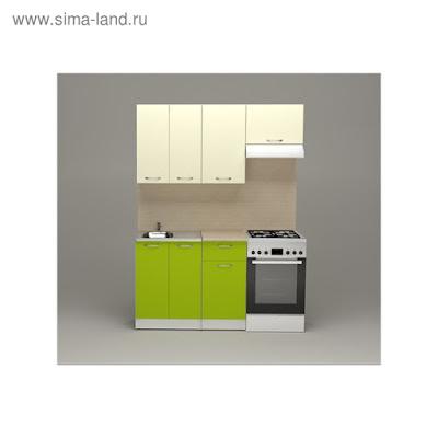 Кухонный гарнитур Елена нормал, 1500 мм