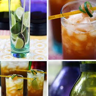 Ginger Pineapple Iced Tea.