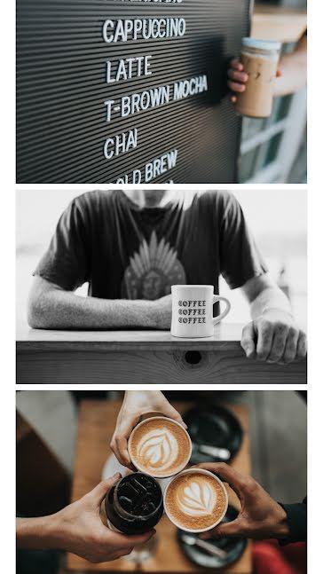Coffee Menu Board - Facebook Story Template