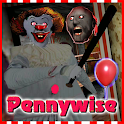Pennywise! Evil Clown - Granny Horror Games (IT 2) icon