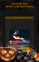 Screenshot of Drum Pads 24 - Halloween