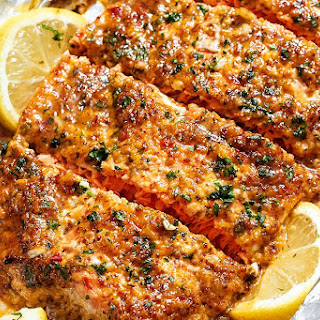 Baked Honey Garlic Salmon in Foil Recipe