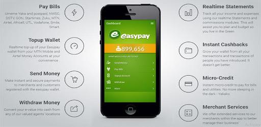 EasyPay Mobile Wallet – Rakendused Google Plays