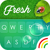 Green Keyboard Theme - Emoji&Gif Android APK Download Free By Powerful Phone