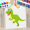 Dinosaur Kid Coloring Book 3 APK