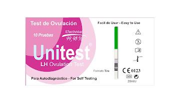 Prueba de Ovulacion en   Tira Unitest Caja x 10Und