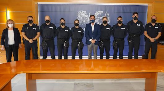 Arrancan las prácticas de 6 agentes que se unirán a la Policía Local de El Ejido