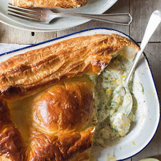 Traditional Fish Pie with a Pastry Lid Recipe