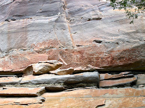 Photo: Pha Taem has the longest stretch of prehistoric petroglyphs in the world