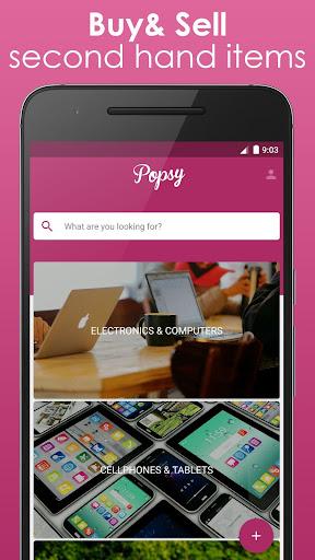 Popsy - 销售二手产品