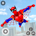 Flying Robot Hero: Flying Superhero Robot Rescue icon