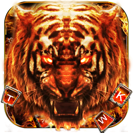 Red Horror Fire Tiger Keyboard Theme Android APK Download Free By 2019 CooL Keyboard Center   -  TOM WATSON