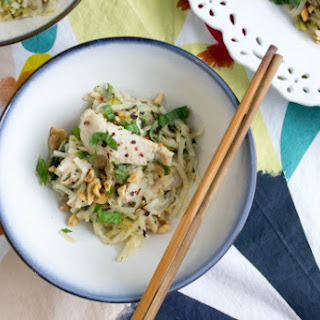 Pork Stir-Fry with Lemongrass & Rice Noodle Salad