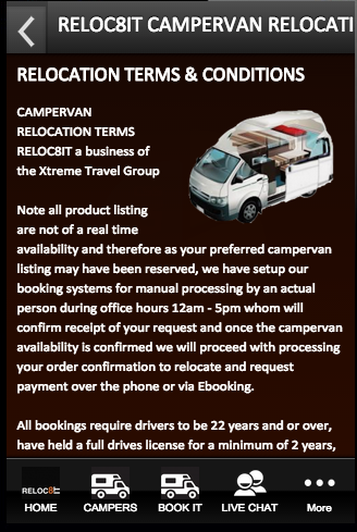 RELOC8IT CAMPERVAN RELOCATIONS