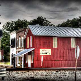 Welcome From the City of Rossville, Tennessee... by Billy Morris - City,  Street & Park  Markets & Shops ( railroad, old town, landscape, rossville tn, city )