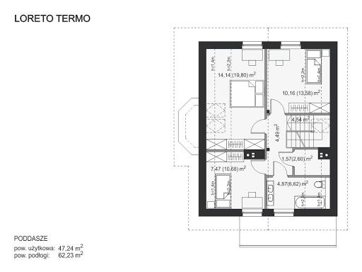 Loreto Termo - Rzut poddasza