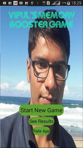 Vipul's memory booster game