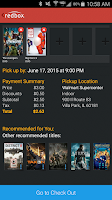 Screenshot of Redbox