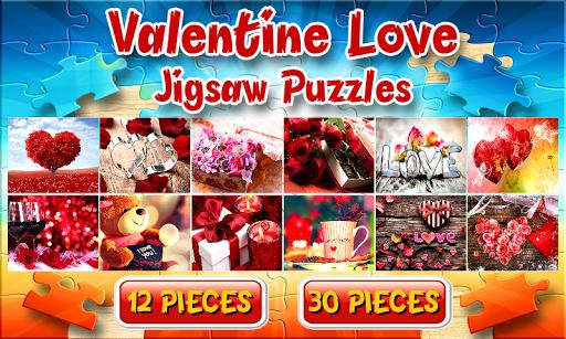 バレンタインジグソーパズルゲーム