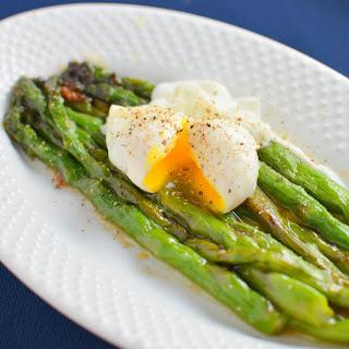 Miso Glazed Asparagus
