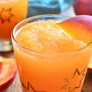 Frozen Peach Slush.