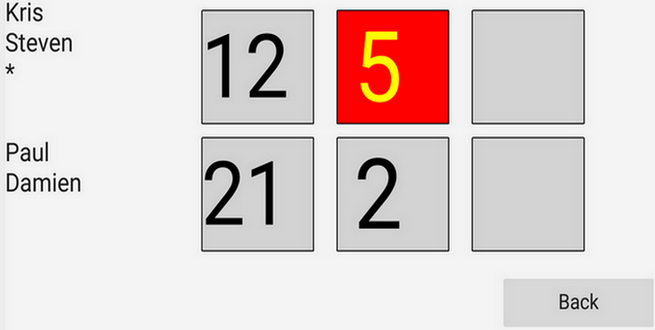 Badminton Score- screenshot