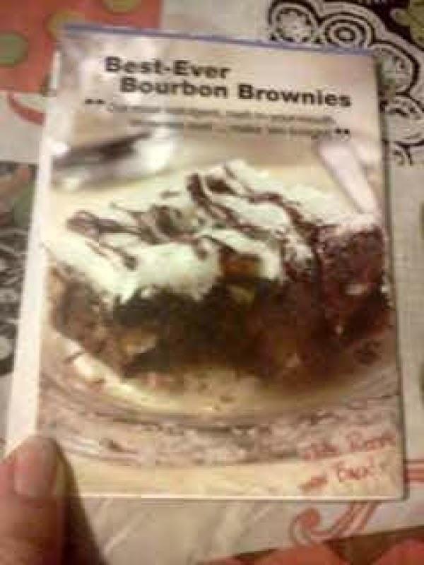 Best-ever Bourbon Brownies Recipe